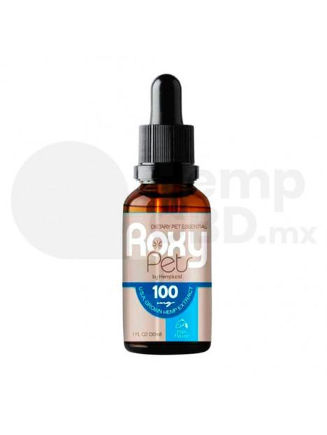 Aceite de CBD para Gato Roxy Pets de Hemplucid Gotero 30ml 100mg